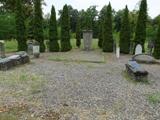 Zachowane pomniki na nieczynnej części cmentarza komunalnego wSłońsku